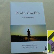 Libros de segunda mano: COELHO, PAULO: EL ALQUIMISTA (TRAD:MONTSERRAT MIRA). Lote 219264291