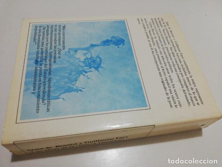 Libros de segunda mano: las ideas de La nueva derecha - de Benoist,Alain / guillaume faye - Foto 3 - 219341235