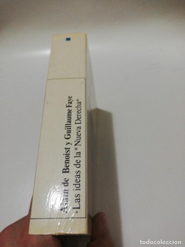 Libros de segunda mano: las ideas de La nueva derecha - de Benoist,Alain / guillaume faye - Foto 4 - 219341235