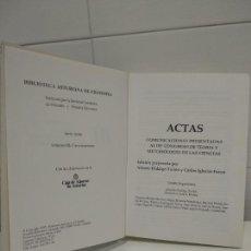 Libros de segunda mano: BIBLIOTECA ASTURIANA DE FILOSOFIA ACTAS III CONGRESO DE TEORIA Y METODOLOGIA DE LAS CIENCIAS. Lote 220547000