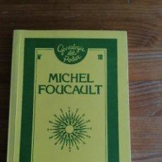 Libros de segunda mano: SABER Y VERDAD - FOUCAULT, MICHEL. Lote 220554415