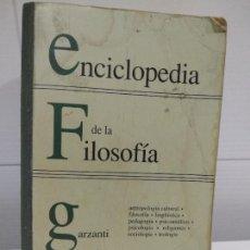 Libros de segunda mano: FILOSOFIA ENCICLOPEDIA. Lote 220559626