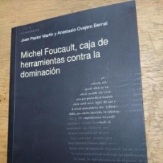 Libros de segunda mano: MICHEL FOUCAULT, CAJA DE HERRAMIENTAS CONTRA LA DOMINACIÓN. Lote 221108027
