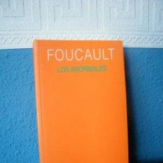 Libros de segunda mano: LOS ANORMALES - FOUCAULT - AKAL EDICIONES - MADRID (2001). Lote 221154282
