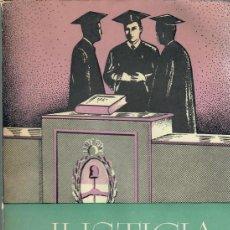 Libros de segunda mano: JUSTICIA Y SENTIDO / M. HERRERA FIGUEROA. Lote 221640561