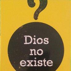 Libros de segunda mano: DIOS NO EXISTE - CHRISTOPHER HITCHENS. Lote 222054933