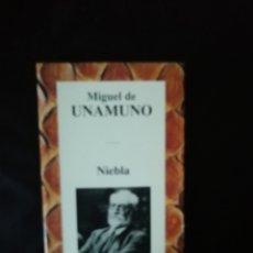 Libros de segunda mano: NIEBLA, MIGUEL DE UNAMUNO. Lote 222573155
