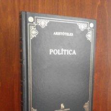 Libros de segunda mano: ARISTÓTELES - POLÍTICA - BIBLIOTECA GREDOS Nº 34 - 2007. Lote 224809182