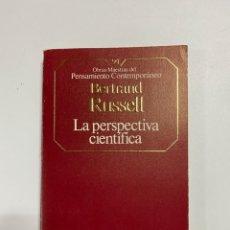 Libros de segunda mano: LA PERSPECTIVA CIENTIFICA. BERTRAND RUSSELL. PLANETA DEAGOSTINI. BARCELONA, 1986.PAGS:221. Lote 225300110