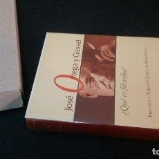 Libros de segunda mano: 1997 - JOSÉ ORTEGA Y GASSET - ¿QUÉ ES FILOSOFÍA? - ALIANZA 30 ANIVERSARIO. Lote 225531152