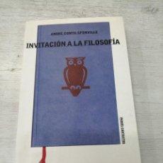 Libros de segunda mano: INVITACIÓN A LA FILOSOFÍA - , ANDRÉ COMTE-SPONVILLE. Lote 226242190