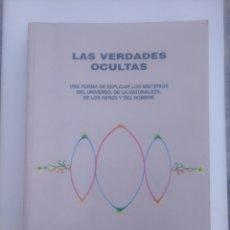 Libros de segunda mano: NICOLÁS GARCÍA DÍAZ. LAS VERDADES OCULTAS.. Lote 227083220