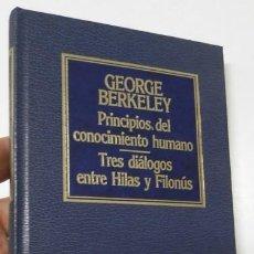 Libros de segunda mano: PRINCIPIOS DEL CONOCIMIENTO HUMANO - GEORGE BERKELEY. Lote 227957635