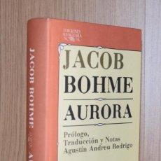 Libri di seconda mano: AURORA - JACOB BOHME. Lote 228021640