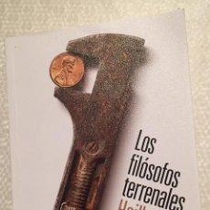 Libros de segunda mano: LOS FILOSOFOS TERRENALES, HEILBRONER, ALIANZA EDITORIAL. Lote 228060475