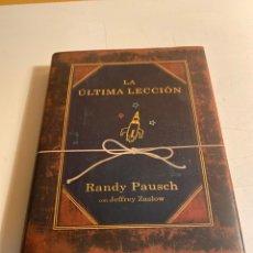 Libros de segunda mano: LA ÚLTIMA LECCIÓN. Lote 228617050