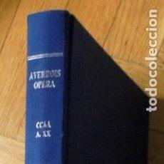 Libros de segunda mano: AVERROES. EPÍTOME DE FÍSICA (FILOSOFÍA DE LA NATURALEZA). TRADUCCIÓN Y ESTUDIO JOSEP PUIG.. Lote 229576350