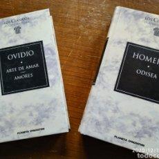 """Libros de segunda mano: COLECCIÓN """"LOS CLÁSICOS DE GRECIA Y ROMA"""". Lote 230864240"""