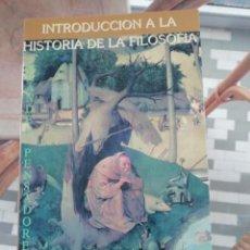 Libros de segunda mano: INTRODUCCIÓN A LA HISTORIA DE LA FILOSOFÍA POR GEORG HEGEL. Lote 231198085