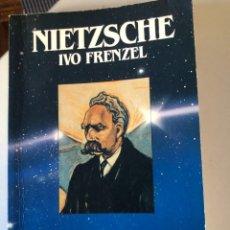 Libros de segunda mano: NIETZSCHE DE IVO FRENTZEL. Lote 232467540