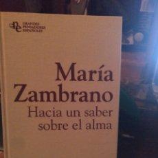 Libros de segunda mano: MARÍA ZAMBRANO PLANETA 2011. Lote 233049045
