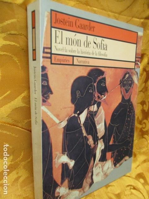 Libros de segunda mano: EL MÓN DE SOFIA, Jostein Gaarder - Foto 2 - 235375670