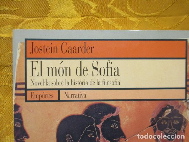 Libros de segunda mano: EL MÓN DE SOFIA, Jostein Gaarder - Foto 3 - 235375670