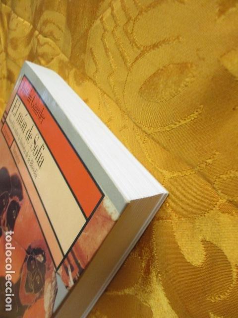 Libros de segunda mano: EL MÓN DE SOFIA, Jostein Gaarder - Foto 4 - 235375670