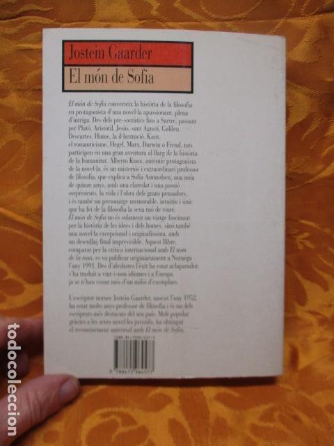 Libros de segunda mano: EL MÓN DE SOFIA, Jostein Gaarder - Foto 13 - 235375670