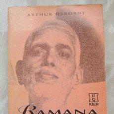 Libros de segunda mano: RAMANA MAHARSHI -EL SENDERO DEL AUTOCONOCIMIENTO- EDITORIAL KIER -ENVÍO CERTIF - GRATUITO. Lote 236075805