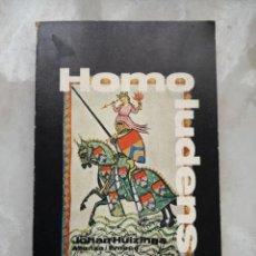 Libros de segunda mano: HOMO LUDENS JOHAN HUIZINGA / ENVÍO CERTIF GRATUITO. Lote 236076720