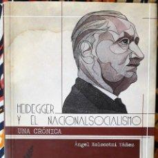 Libros de segunda mano: ÁNGEL XOLOCOTZI YÁÑEZ . HEIDEGGER. Lote 236155200