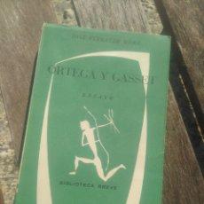 Libros de segunda mano: JOSÉ FERRATER MORA. ORTEGA Y GASSET.. Lote 236417280