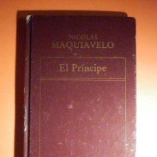 Libros de segunda mano: NICOLÁS MAQUIAVELO - EL PRÍNCIPE - EDITORIAL OVEJA NEGRA 1983. Lote 236514185