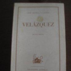 Libros de segunda mano: JOSÉ ORTEGA Y GASSET - VELÁSQUEZ 1970. Lote 236517415