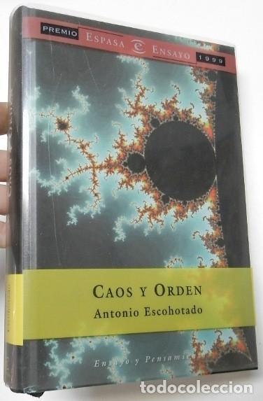 CAOS Y ORDEN - ANTONIO ESCOHOTADO (Libros de Segunda Mano - Pensamiento - Filosofía)