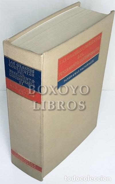 Libros de segunda mano: SCIACCA, M. F. [Director]. Las grandes corrientes del pensamiento contemporáneo. Panoramas nacionale - Foto 3 - 236732925