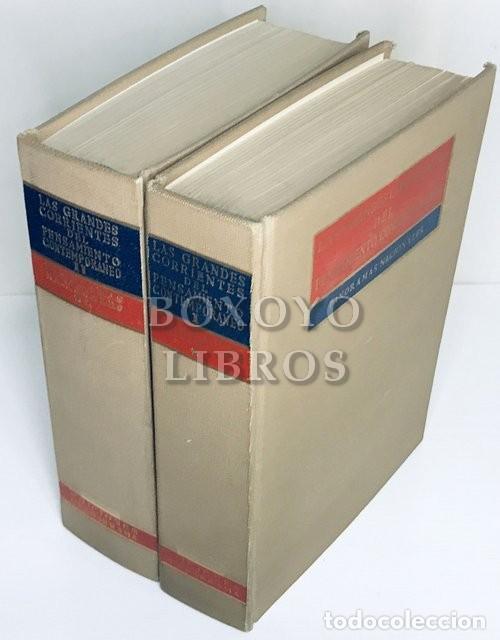 SCIACCA, M. F. [DIRECTOR]. LAS GRANDES CORRIENTES DEL PENSAMIENTO CONTEMPORÁNEO. PANORAMAS NACIONALE (Libros de Segunda Mano - Pensamiento - Filosofía)