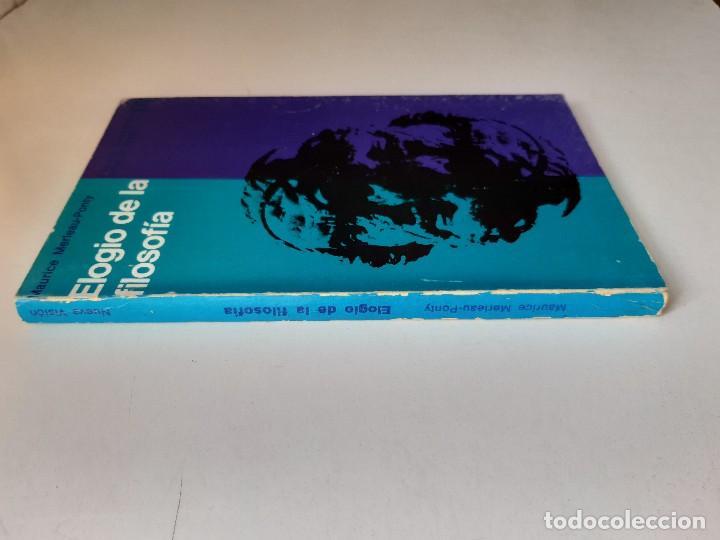 Libros de segunda mano: ELOGIO DE LA FILOSOFIA Maurice Merleau Ponty Buenos Aires 1970 - Foto 4 - 240337665