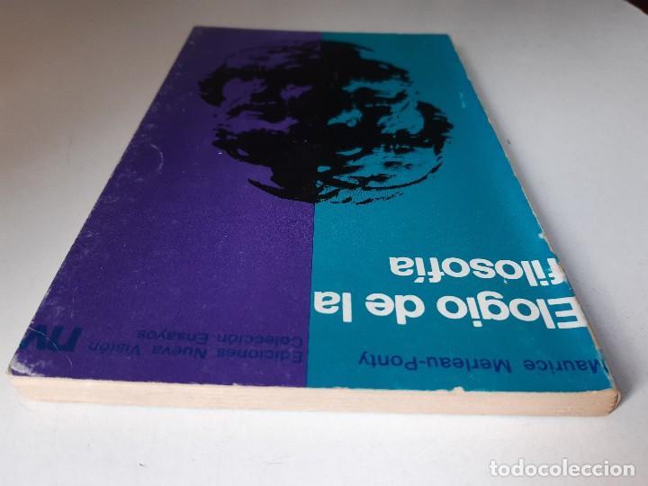 Libros de segunda mano: ELOGIO DE LA FILOSOFIA Maurice Merleau Ponty Buenos Aires 1970 - Foto 7 - 240337665