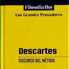 Libros de segunda mano: DISCURSO DEL MÉTODO - RENÉ DESCARTES. Lote 240492160