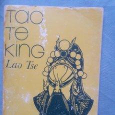 Libri di seconda mano: TAO TE KING - ED. RICARDO AGUILERA, 1980. Lote 241107755