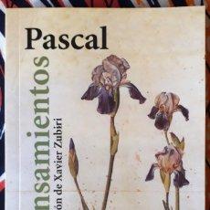 Libros de segunda mano: BLAISE PASCAL . PENSAMIENTOS. Lote 241864900