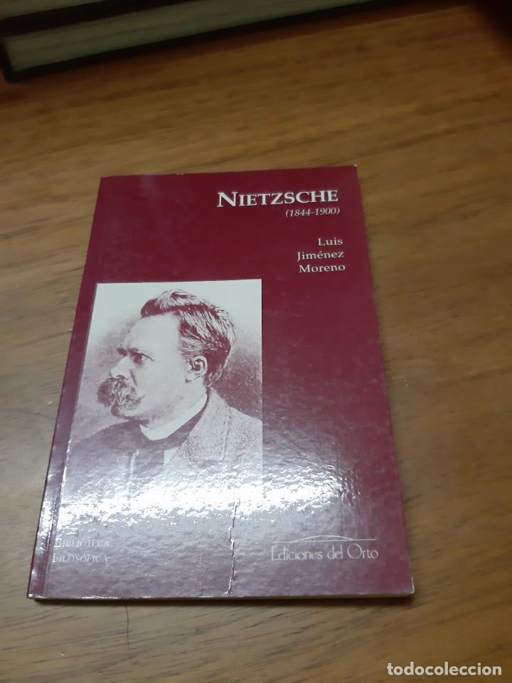 JIMÉNEZ MORENO LUIS, NIETZSCHE (1844-1900), EDICIONES DEL ORTO, MADRID, 2000 (Libros de Segunda Mano - Pensamiento - Filosofía)