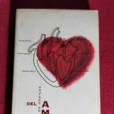 Libros de segunda mano: ALAIN DE BOTTON. DEL AMOR. EPÍLOGO DE ROSA REGÁS. Lote 245112460
