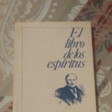 Libros de segunda mano: EL LIBRO DE LOS ESPÍRITUS ( ALLAN KARDEC ). Lote 245329835