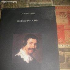 Libros de segunda mano: TRATADO DE LA RISA LAURENT JOUBERT (1579-2002) NEUROPSIQUIATRÍA RISOTERAPIA TERAPIA GRUPAL LEA DESCR. Lote 245367770
