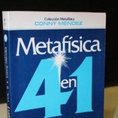 Livres d'occasion: METAFÍSICA 4 EN 1. VOL II.- MÉNDEZ, CONNY.. Lote 245393915