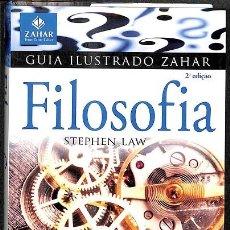 Libros de segunda mano: GUIA ILUSTRADO ZAHAR - FILOSOFIA / IDIOMA PREFIJADO PORTUGUÉS. Lote 245447630