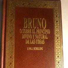 Libros de segunda mano: BRUNO DE SCHELLING. Lote 247817140
